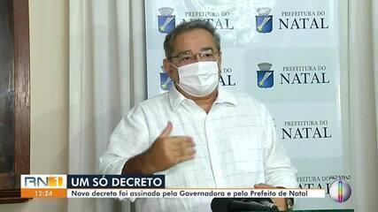Prefeito de Natal fala sobre novo decreto com medidas mais restritivas