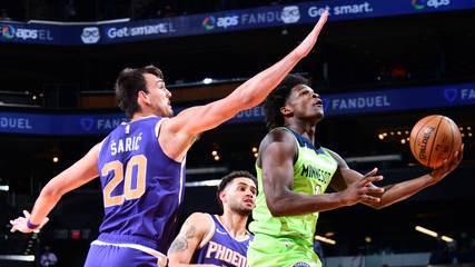 Melhores momentos: Phoenix Suns 119 x 123 Minnesota Timberwolves pela NBA