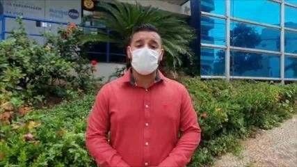 Enfermeiro fala sobre condições de trabalho na pandemia