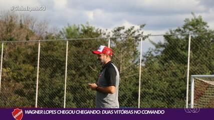 Vila Nova tem início animador sob o comando de Wagner Lopes
