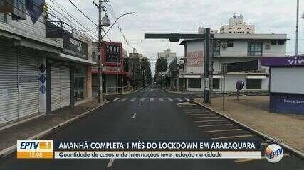 Araraquara registra queda de casos de Covid quase um mês depois de ter decretado lockdown