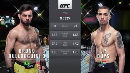 UFC Brunson x Holland - Bruno Bulldoguinho x JP Buys