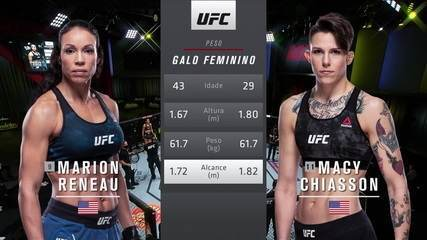 UFC Brunson x Holland - Marion Reneau x Macy Chiasson