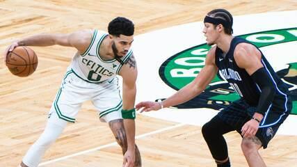 Melhores momentos: Boston Celtics 112 x 96 Orlando Magic pela NBA