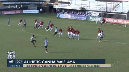 Na despedida de Loco Abreu, Athletic vence Pouso Alegre pelo Campeonato Mineiro
