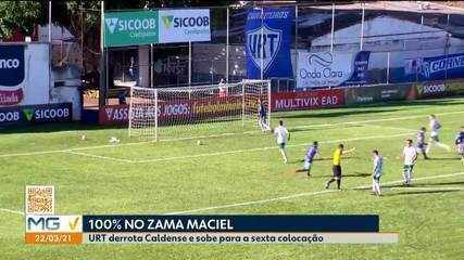 URT vence Caldense e se recupera no Campeonato Mineiro