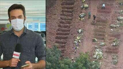 SP: aumento de enterros obriga cemitérios a estenderem horários de funcionamento