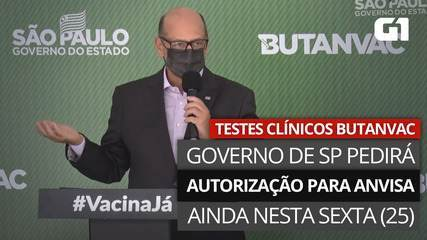 Dimas Covas diz que vai protocolar pedido de teste clínico na Anvisa ainda nesta sexta-feira (26)