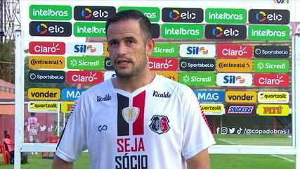 """Autor de dois gols, Pipico comemora classificação: """"Equipe toda está de parabéns"""""""