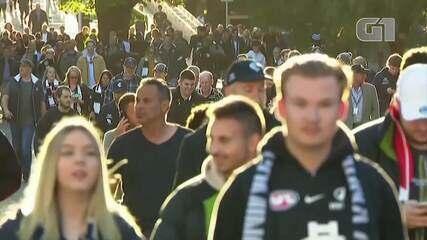 VÍDEO: Austrália bate recorde de público em evento esportivo desde início da pandemia
