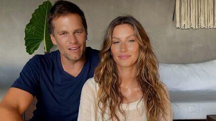 Tom Brady se declara para Gisele Bündchen e elogias os projetos sociais da amada