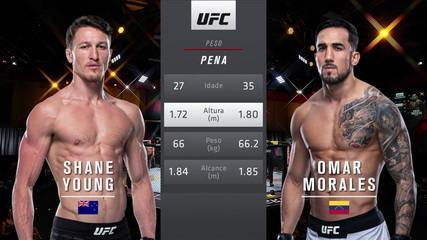 UFC 260 - Shane Young x Omar Morales