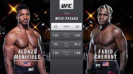 UFC 260 - Alonzo Menifield x Fabio Cherant