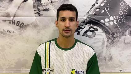 Netinho Marques fala sobre a sua preparação no exterior, visando os Jogos Olímpicos