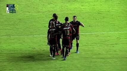 Os gols de Sport 2 x 0 Central pela 4ª rodada do Campeonato Pernambucano