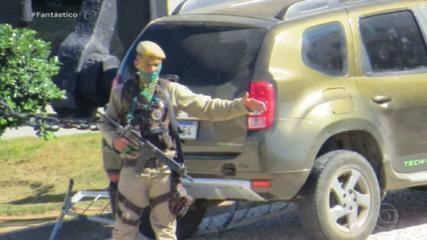 Soldado da PM da Bahia tem surto e dispara dezenas de tiros para o alto no Farol da Barra