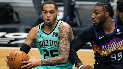Melhores momentos: Charlotte Hornets 97 x 101 Phoenix Suns pela NBA