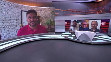 Flamengo inicia trabalhos com grupo completo e Ceni mantém Arão na zaga