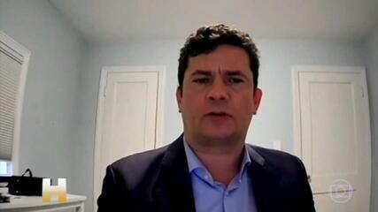 Sergio Moro fala pela primeira vez depois de decisão do STF declará-lo parcial em processo do ex-presidente Lula