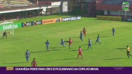Com golaço de Lucão, CRB venceu o Goianésia na primeira fase da Copa do brasil
