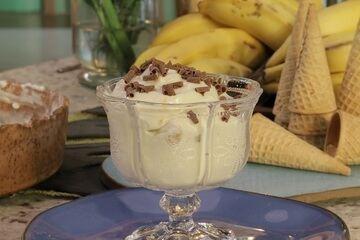 Banana Pudding do Roberto Strongoli