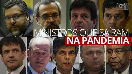 VÍDEO: ministros que deixaram governo durante a pandemia