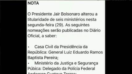 Anderson Torres assume Ministério da Justiça no lugar de André Mendonça