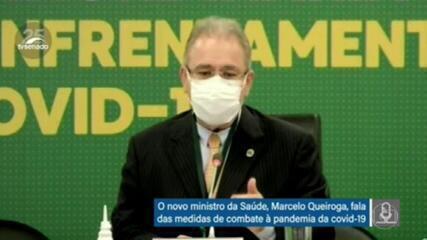 Queiroga quer protocolo para racionalizar uso de oxigênio em hospitais