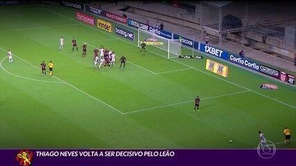 Thiago Neves volta a ser decisivo pelo Sport