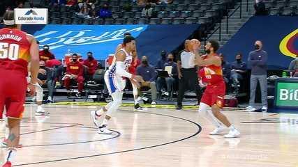 Melhores momentos de Denver Nuggets 104 x 95 Philadelphia 76ers pela NBA
