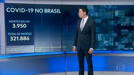 Brasil registra novo recorde de mortes pela pandemia
