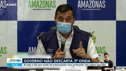 Governo não descarta 3ª onda de Covid no Amazonas