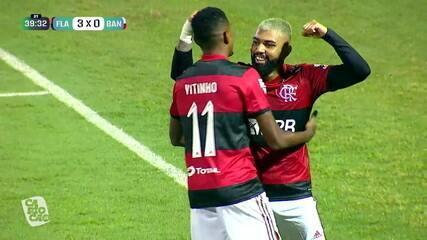 Melhores momentos de Flamengo 3 x 0 Bangu, pela 7ª rodada do Campeonato Carioca
