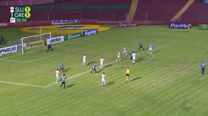Veja os melhores momentos de São Luiz 2x2 Grêmio, pela 8ª rodada do Gauchão
