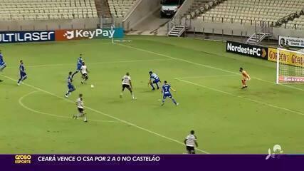 Ceará vence CSA por 2 a 0 na Arena Castelão