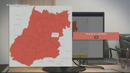 Goiás está em situação de calamidade, aponta mapa de risco do governo