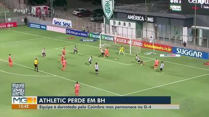 Athletic foi derrotado pelo Coimbra fora de casa pelo Mineiro