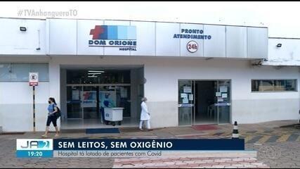 Com superlotação, hospital fecha pronto atendimento e para de atender pacientes com Covid