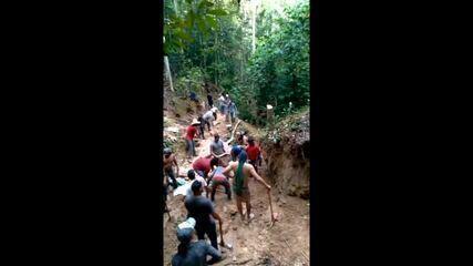 Garimpeiros invadiram fazenda a procura de ouro em MT