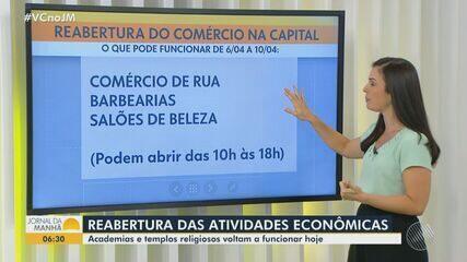 Veja o que pode e o que não pode funcionar na Bahia a partir desta segunda-feira