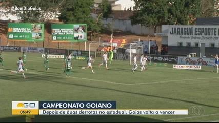 Goiás vence o Jaraguá de virada no Campeonato Goiano