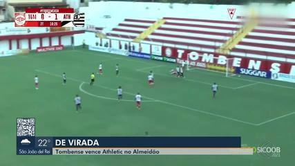 Athletic foi derrotado pelo Tombense no Almeidão