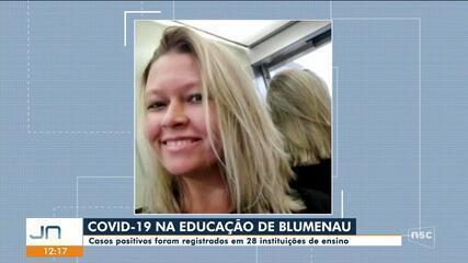 Blumenau registra casos de Covid-19 em 28 instituições de ensino