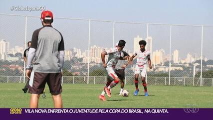 Após derrota em casa, Vila Nova volta as atenções para a Copa do Brasil