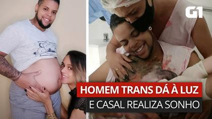 Casal trans fala sobre o desejo de construir uma família