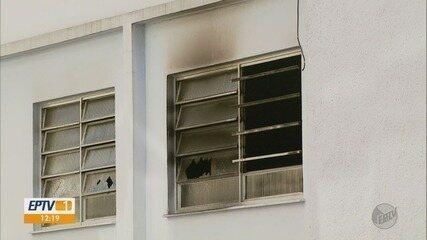 Duas idosas morrem em incêndio nesta madrugada em Pouso Alegre