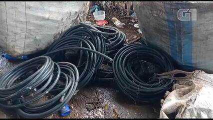 Grupo suspeito de furtar fios de cobre no Gama, no DF
