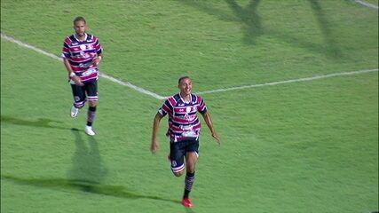 Melhores momentos: Santa Cruz 4 x 1 Vera Cruz pela 5ª rodada do Campeonato Pernambucano 2021