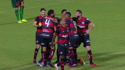 Os gols de Vitória 2 x 0 Rio Branco-ES pela segunda fase da Copa do Brasil