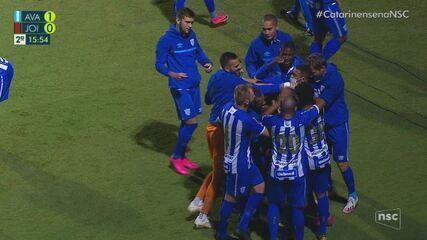 Avaí 1 x 0 Joinville: assista aos melhores momentos da partida